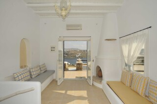 family apartment with sea view navy blue suites