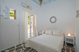family apartment with sea view navy blue suites bedroom