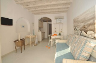 one bedroom apartment with sea view navy blue suites