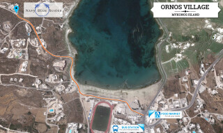 ornos navy blue suite
