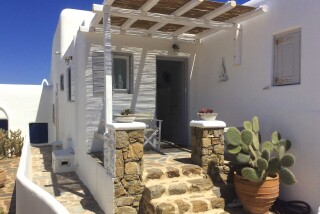small studio navy blue suites
