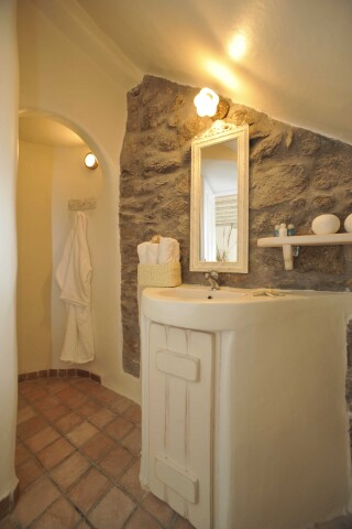 superior one bedroom apartment with sea view navy blue suites bathroom
